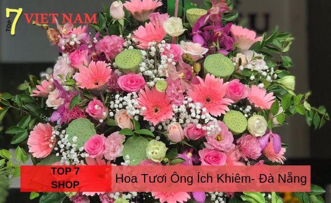 Top 7 Shop Hoa Đường Ông Ích Khiêm Đà Nẵng
