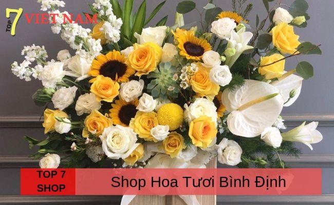 Top 7 Shop Hoa Quy Nhơn Bình Định