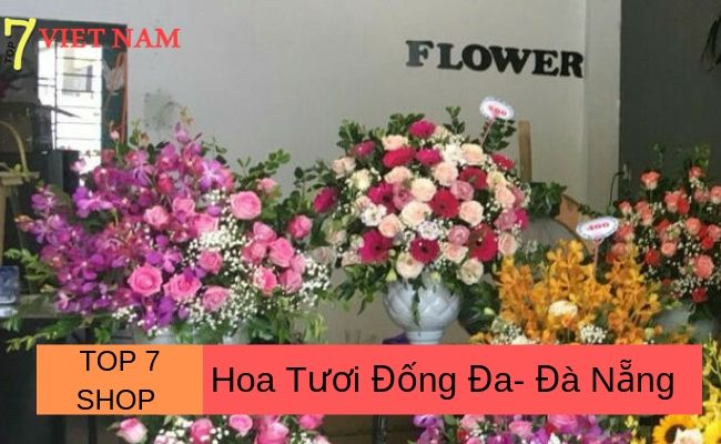 Top 7 Shop Hoa Tươi Đà Nẵng