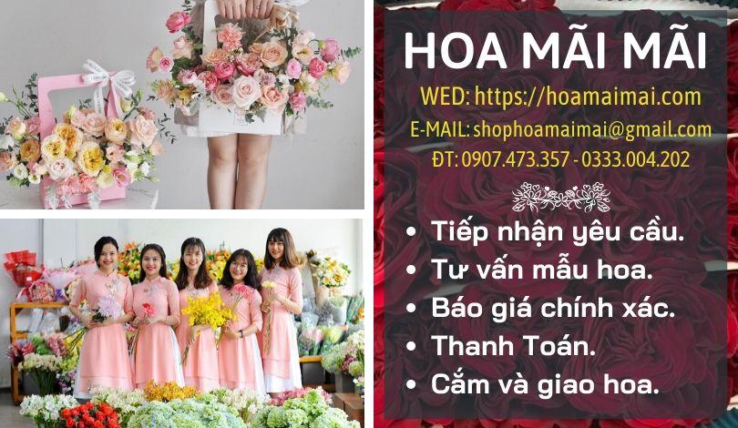 Top 7 Shop Hoa Tươi Đường Trần Phú Đà Nẵng