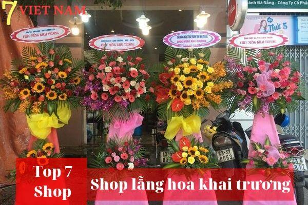 Top 7 Shop Đặt Hoa Khai Trương Đà Nẵng