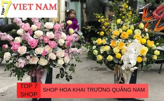 Top 7 Shop Đặt Hoa Khai Trương Quảng Nam
