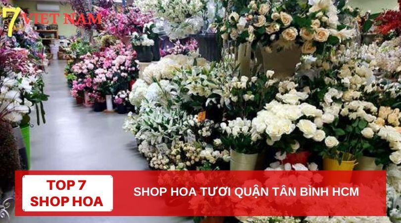 Top 7 Shop Hoa Tươi Quận Tân Bình TPHCM