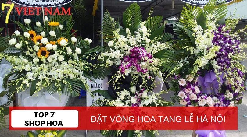 Top 7 Đặt Vòng Hoa Tang Lễ Hà Nội