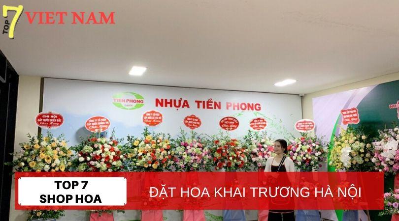 Top 7 Shop Đặt Hoa Khai Trương Hà Nội