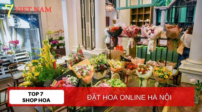 Top 7 Shop Đặt Hoa Online Hà Nội