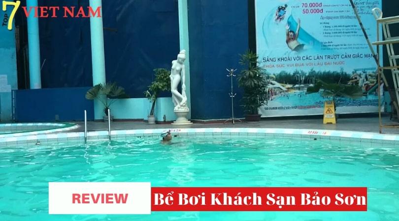 [REVIEW] Bể Bơi Khách Sạn Bảo Sơn – Q Đống Đa – Hà Nội   Top 7 Việt Nam™