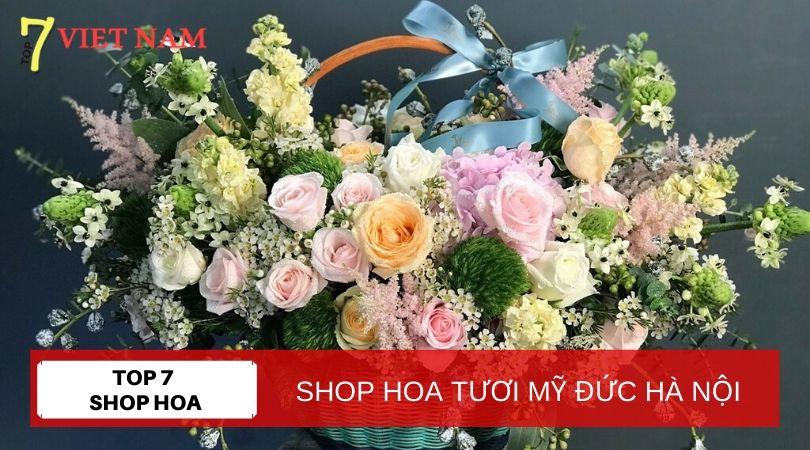 Top 7 Shop Hoa Tươi Huyện Mỹ Đức Hà Nội