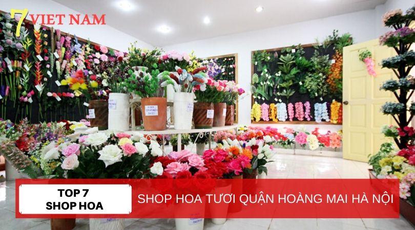 Top 7 Shop Hoa Tươi Quận Hoàng Mai Hà Nội