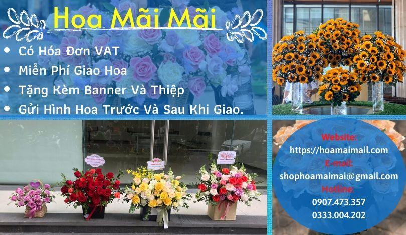 Top 7 Shop Hoa Tươi Quận Hoàn Kiếm Hà Nội