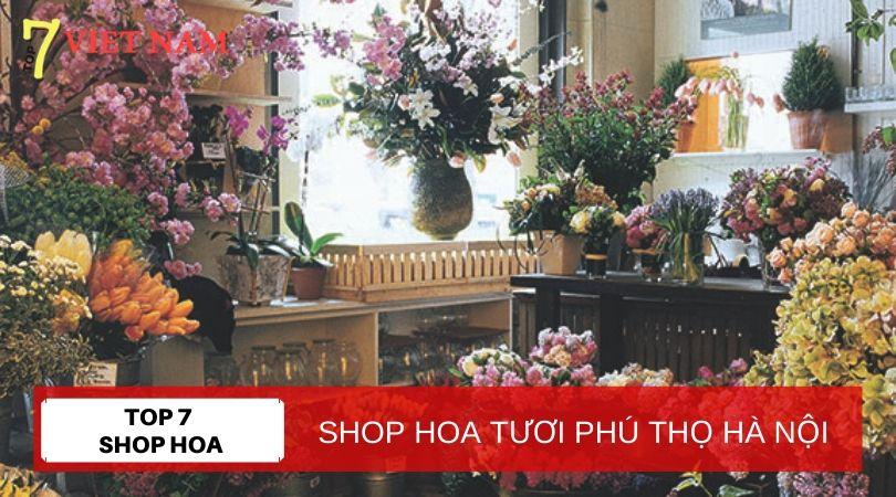 Top 7 Shop Hoa Tươi Huyện Phúc Thọ Hà Nội