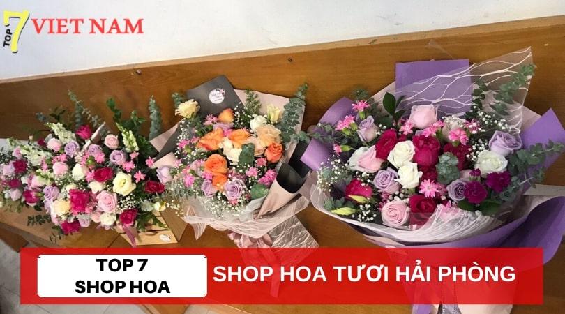 Top 7 Shop Hoa Tươi Hải Phòng
