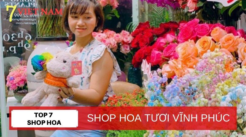 Top 7 Shop Hoa Tươi Vĩnh Phúc