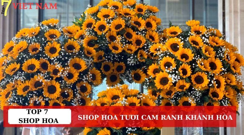 Top 7 Shop Hoa Tươi Thành Phố Cam Ranh Khánh Hòa