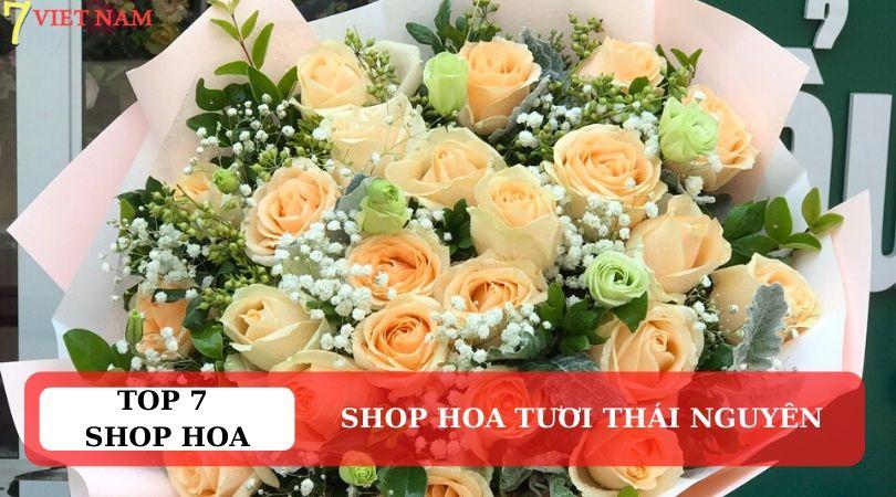 Top 7 Shop Hoa Tươi Thái Nguyên