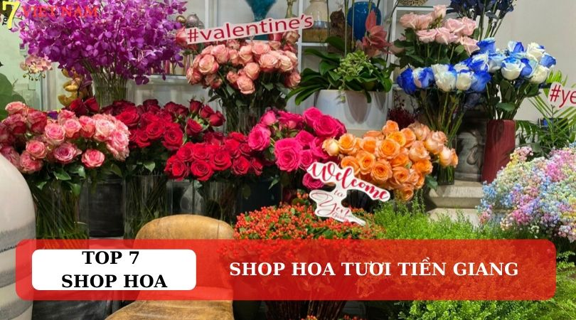 Top 7 Shop Hoa Tươi Tiền Giang