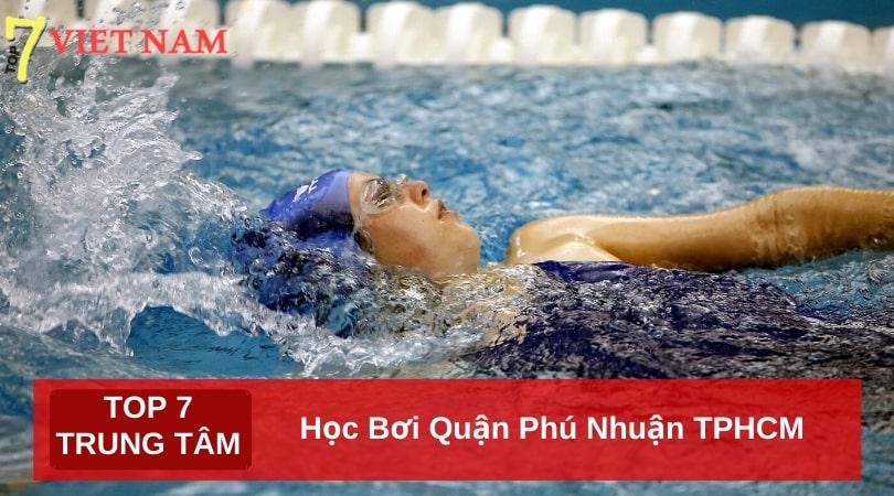 Top 7 Trung Tâm Dạy Học Bơi Quận Phú Nhuận TPHCM