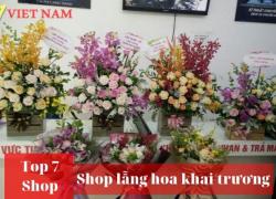 Top 7 Shop Hoa Khai Trương Đà Nẵng