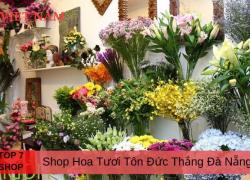 Top 7 Shop Hoa Tươi Đường Tôn Đức Thắng Đà Nẵng