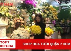 Top 7 Shop Hoa Tươi Quận 7 TPHCM
