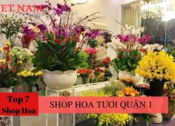 Top 7 Shop Hoa Tươi Quận 1 tp.HCM